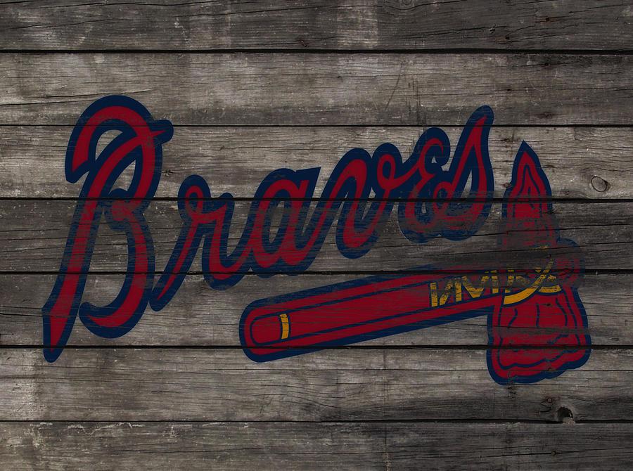 Braves Mixed Media - The Atlanta Braves 3e     by Brian Reaves