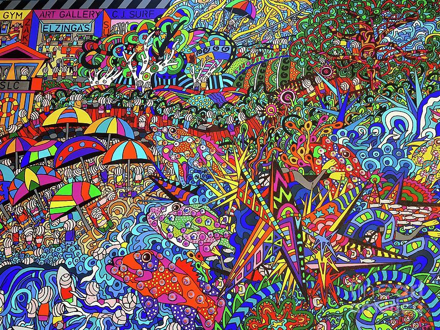 The Australia Way Painting by Karen Elzinga