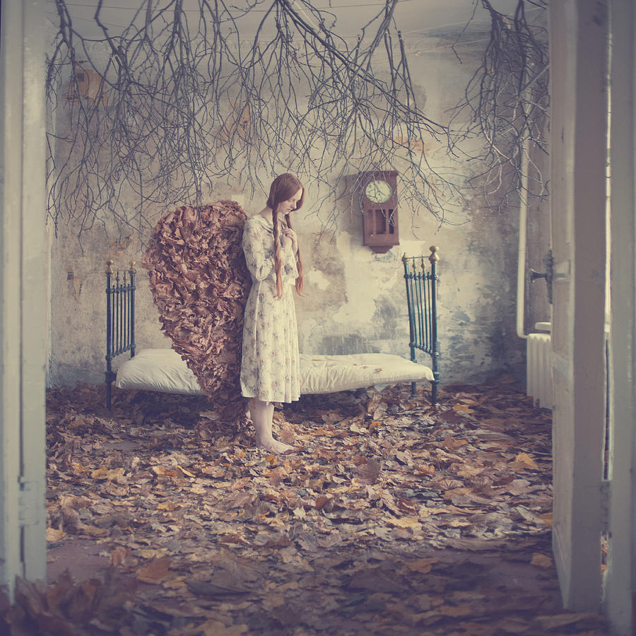 The Autumn Angel Photograph by Anka Zhuravleva