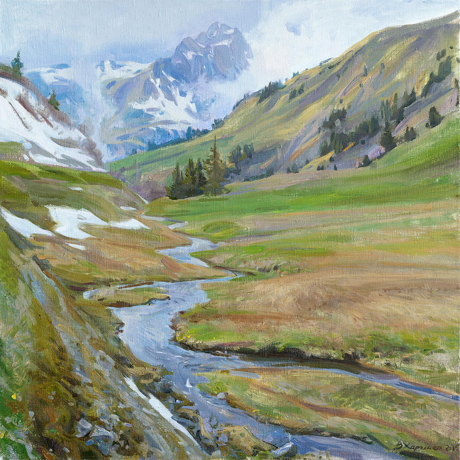 Painting Painting - The Awakening by Victoria Kharchenko