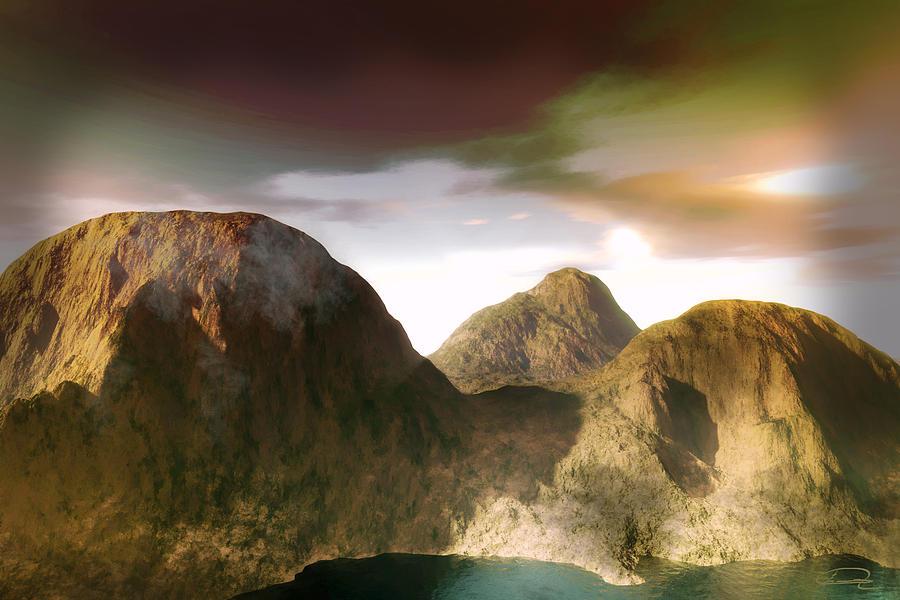 Landscape Painting - The Awakening by Emma Alvarez