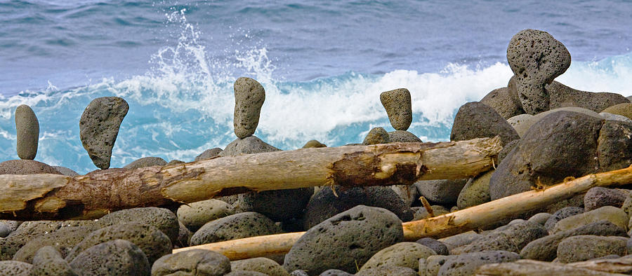 Landscape Photograph - The Balancing Act by Charlie Osborn