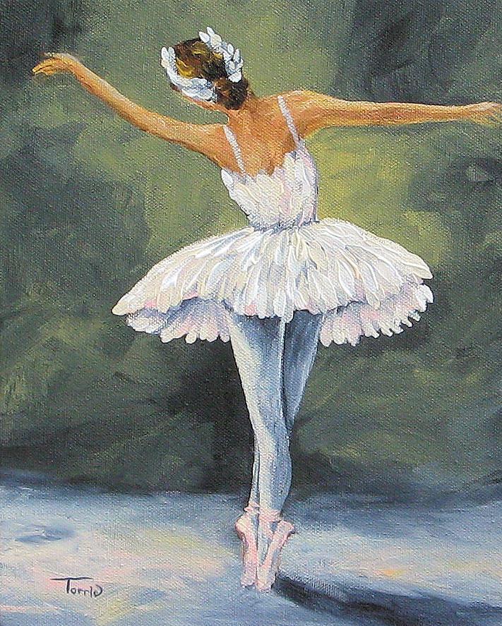 Ballerina Painting - The Ballerina II   by Torrie Smiley