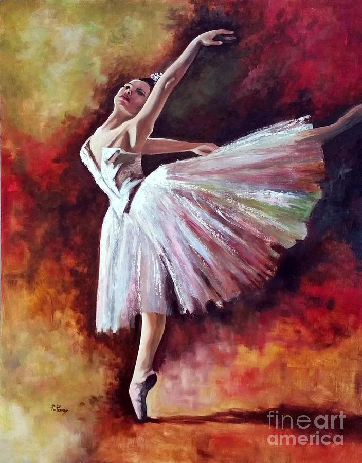 The Dancer Tilting - Adaptation of Degas artwork by Rosario Piazza