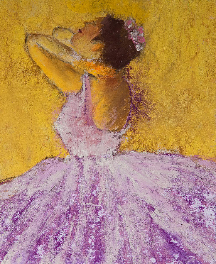 Pastel Painting - The Ballet Dancer by David Patterson