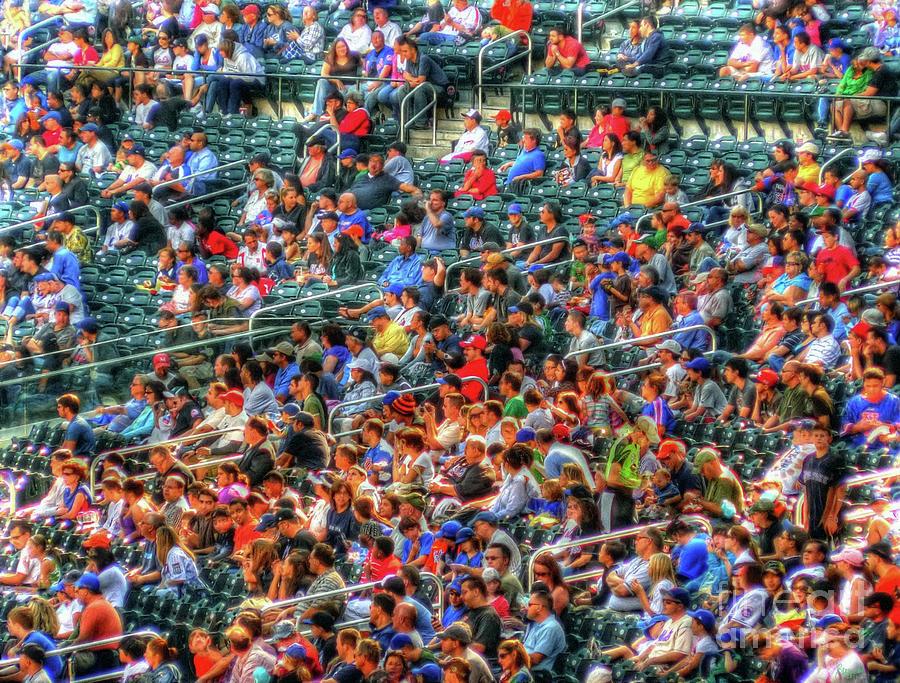 Baseball Photograph - The Ballgame by Jeff Breiman