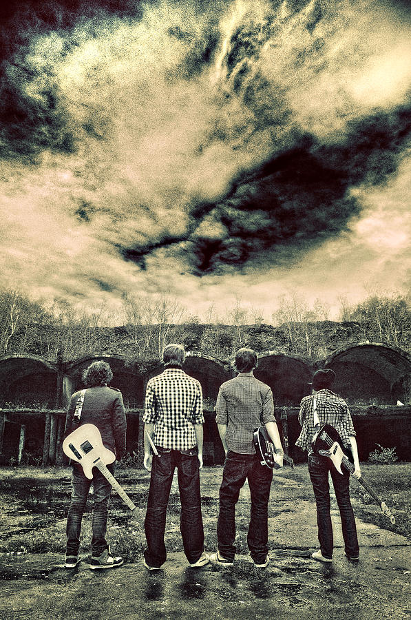 Band Photograph - The Band Has Arrived by Meirion Matthias