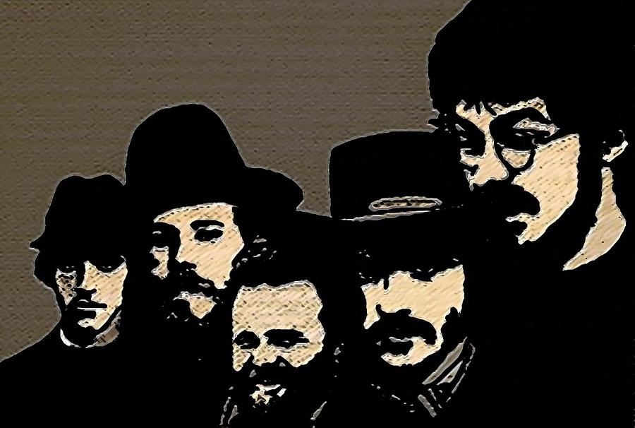 Musicians Painting - The Band by Jeff DOttavio