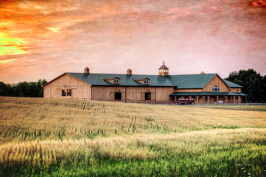 The Barn Ii Photograph By Everet Regal