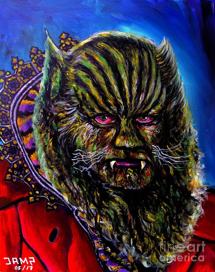 Jean Marais Painting - The Beast  by Jose Mendez
