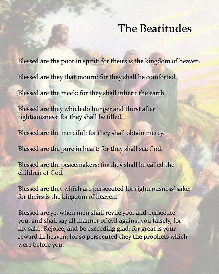 The Beatitudes by Troy Caperton
