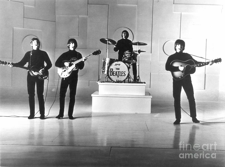 1965 Photograph - The Beatles, 1965 by Granger