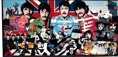 Beatles Painting - The Beatles by David Ellis