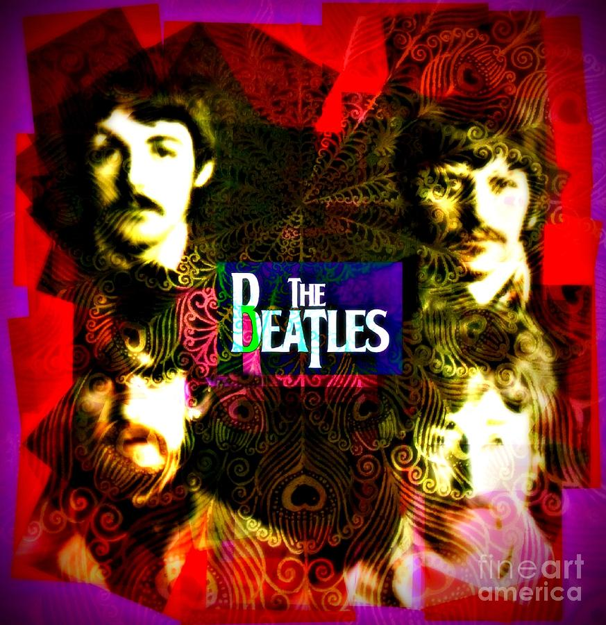 The Beatles Photograph - The Beatles by Kevin Moore