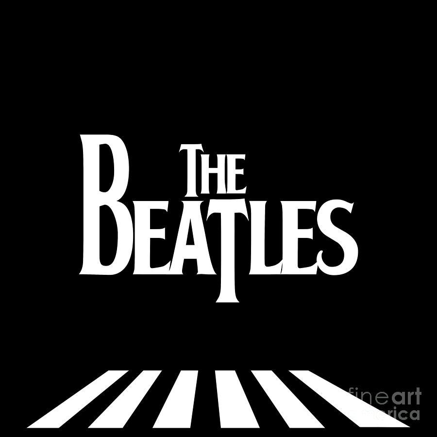 The Beatles Digital Art - The Beatles No.03 by Geek N Rock