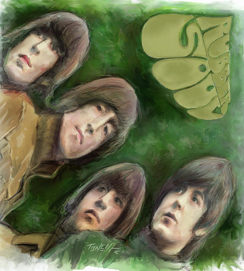 The Beatles, Rubber Soul Painting