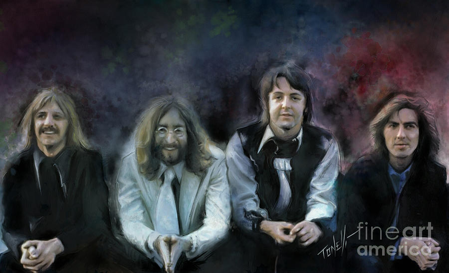 The Beatles Musical Alchemy Mixed Media