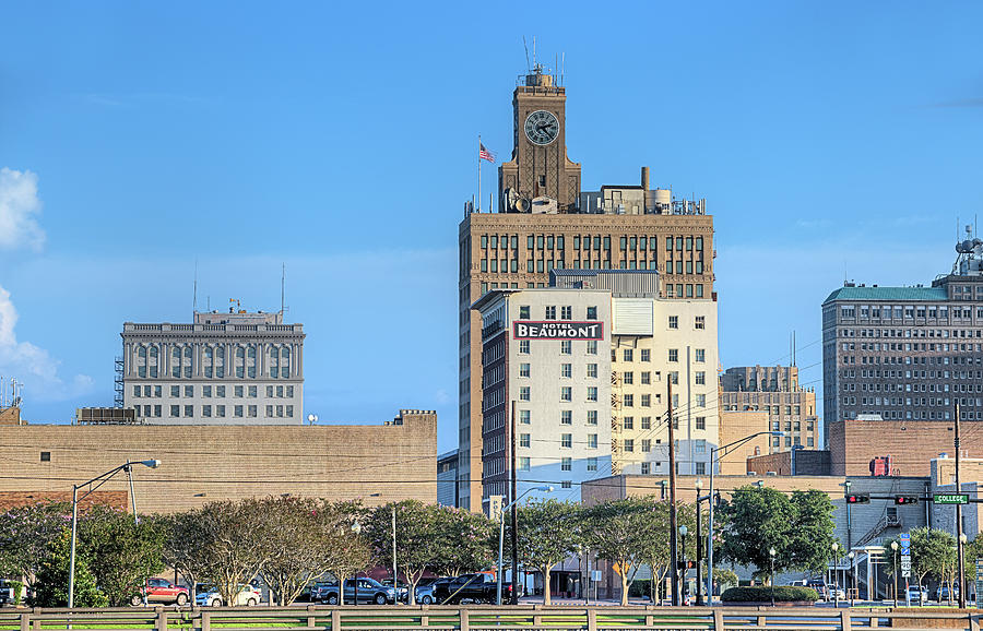 Beaumont Photograph - The Beaumont Skyline by JC Findley