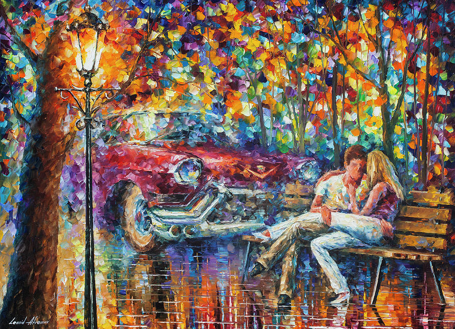 Painting Painting -   The Begining 1959 by Leonid Afremov