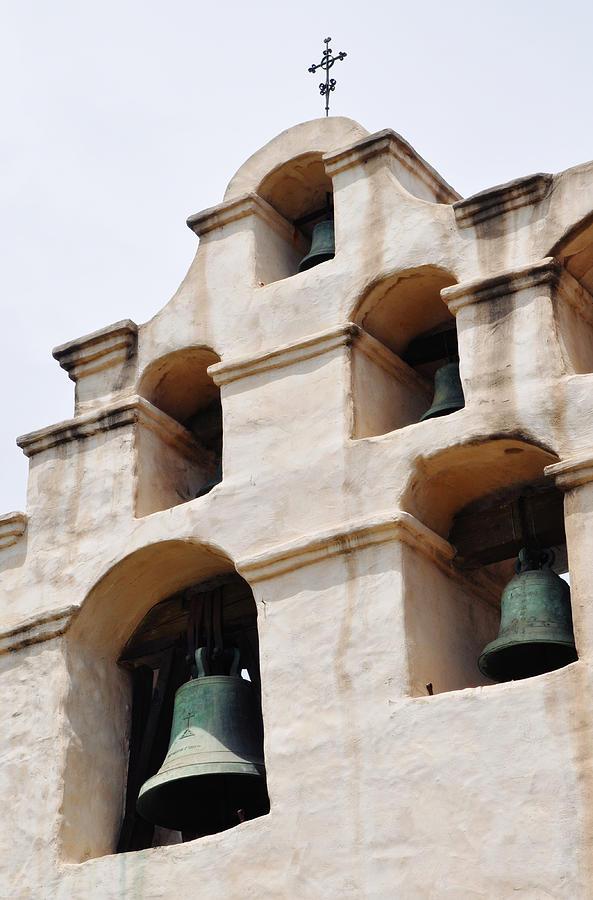 Mission San Gabriel Photograph - The Bells Of Mission San Gabriel Arcangel Portrait by Kyle Hanson