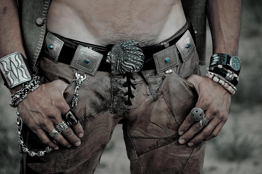 Men Photograph - The Belt by Fern Logan