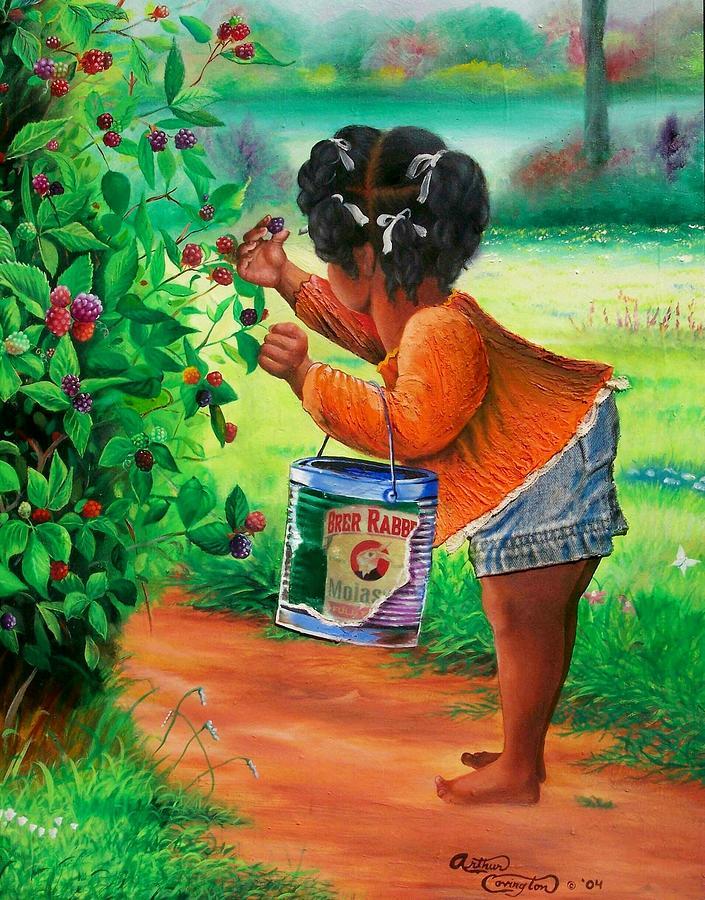 The Berry Girl by Arthur Covington