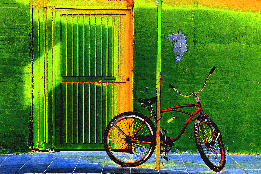 The Bicycle in Piedras Negras by Ross Lewis