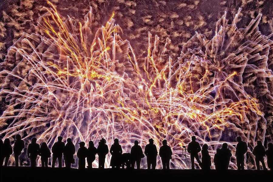 The Big Bang Digital Art - The Big Bang by Becky Titus