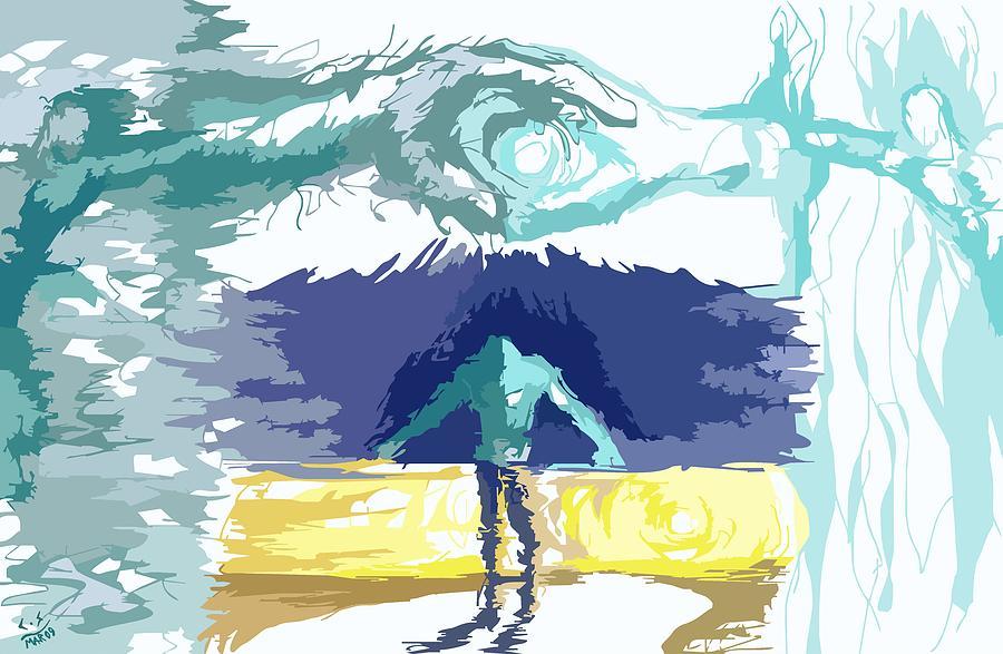 Digital Painting - The Big Bang by Shapeless C