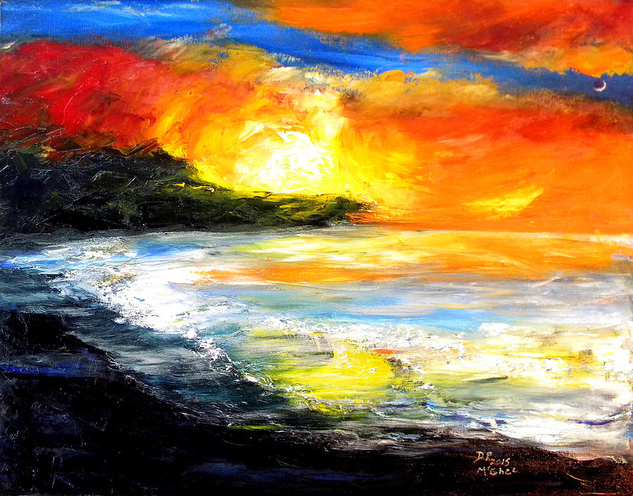 Landscape Painting - The Big Island by David McGhee