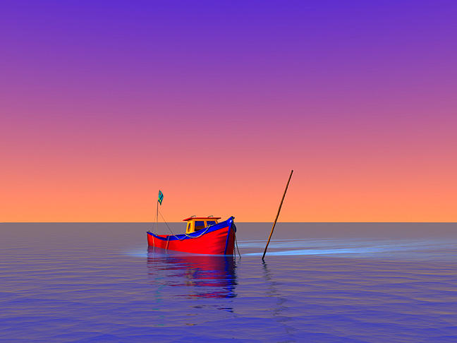 Fishing Boat Digital Art - The Big Picture by Stephen Harlan