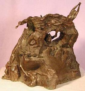 The Big Slash Sculpture by Tim Haley