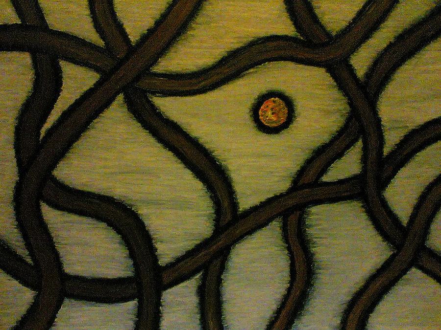 Tree Painting - The Birds Tree by Sergey Larionov