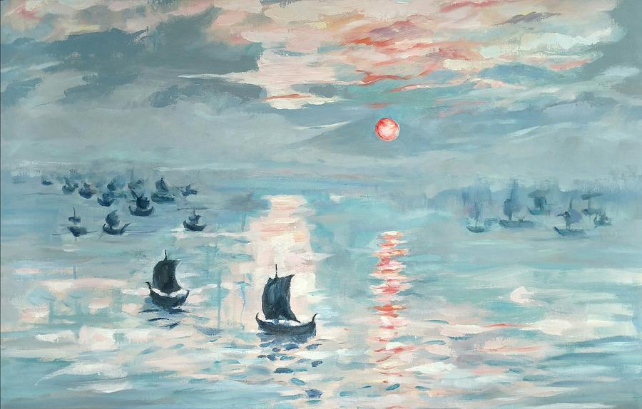 The Blacks Ships  by Elisabeth Harvey
