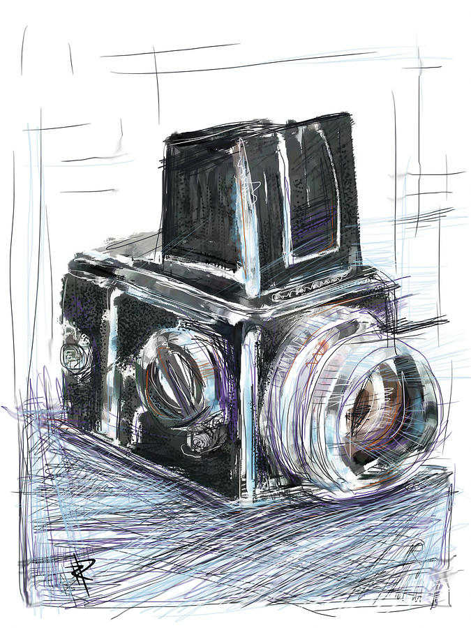 Hasselblad Mixed Media - The Blad by Russell Pierce
