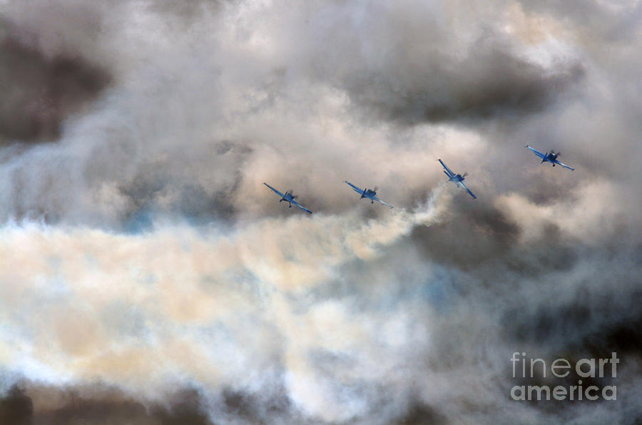 Blades Photograph - The Blades Extra 300 by Angel Ciesniarska