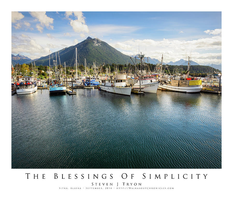 Ship Photograph - The Blessings Of Simplicity by Steven Tryon