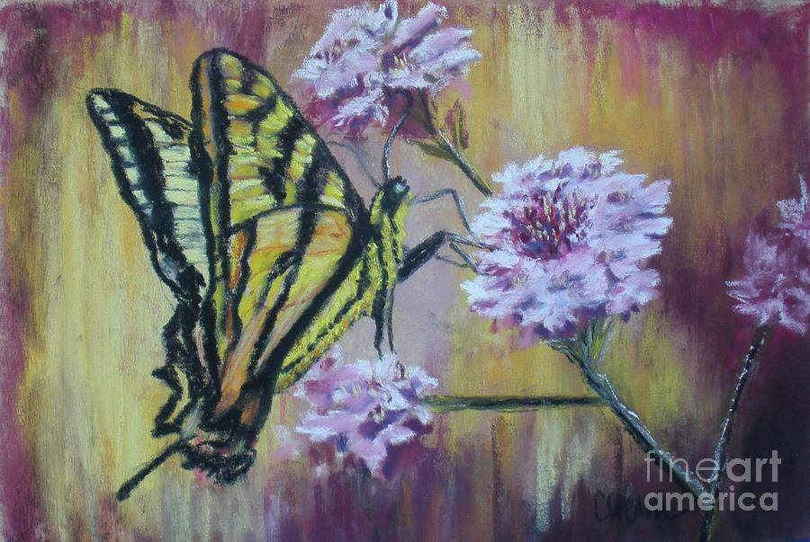 Butterfly Painting - The Blessings Of Struggle by Cathy Weaver