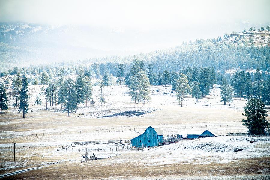 The Blue Barn by Jason Smith