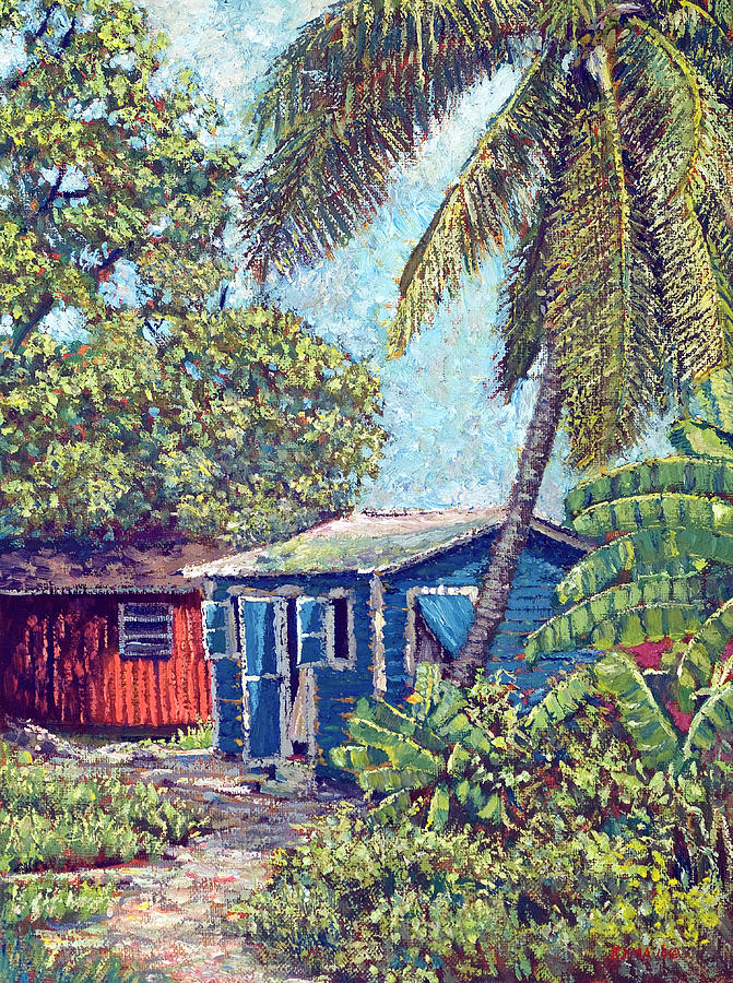 The Blue Cottage by Ritchie Eyma
