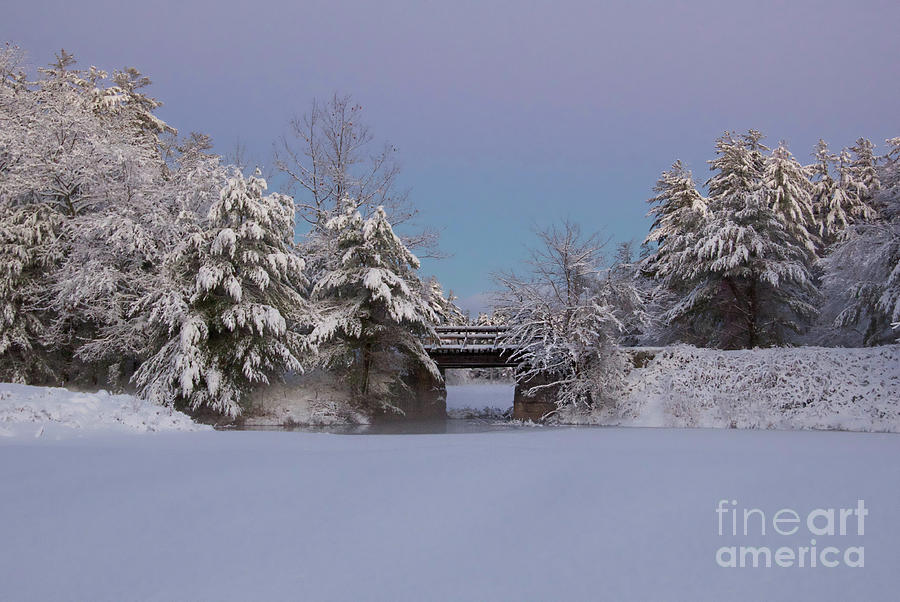 New Hampshire Landscapes Photograph - The blue hour by Diana Nault