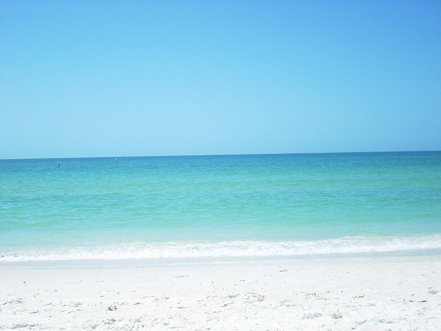 Sand Photograph - The Blue Ocean by Demi Marrall