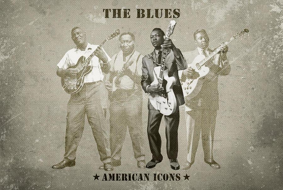 American Icons Digital Art - The Blues by David Richardson