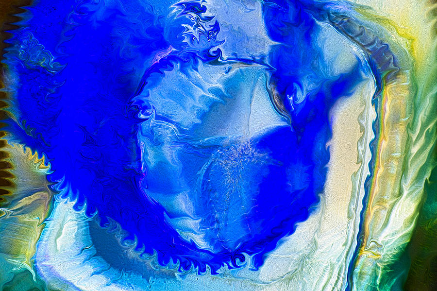 Blue Painting - The Blues by Omaste Witkowski