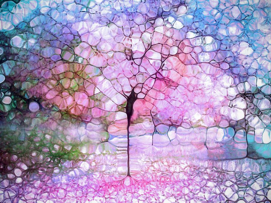 The Blushing Tree in Bloom by Tara Turner