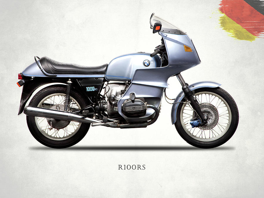 Bmw Photograph - The R100rs Motorcycle 1977 by Mark Rogan