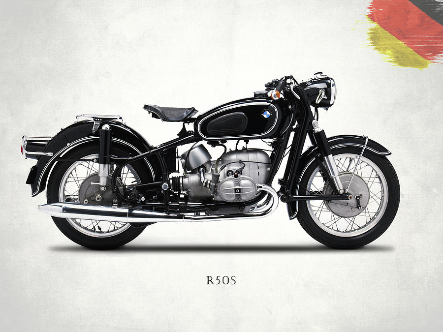 Bmw Photograph - The R50s Motorcycle by Mark Rogan