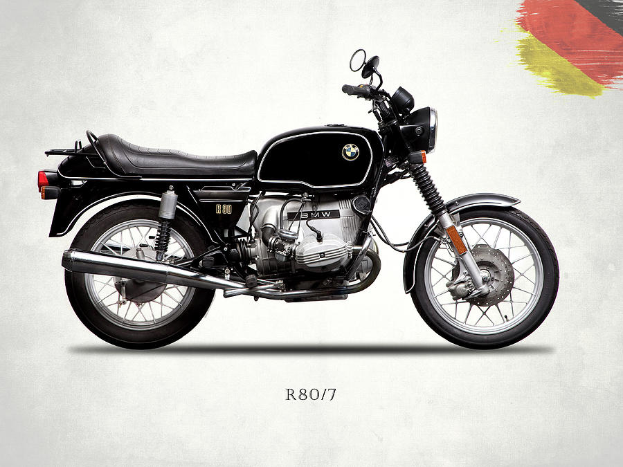 Bmw Photograph - The R80 Motorcycle 1978 by Mark Rogan