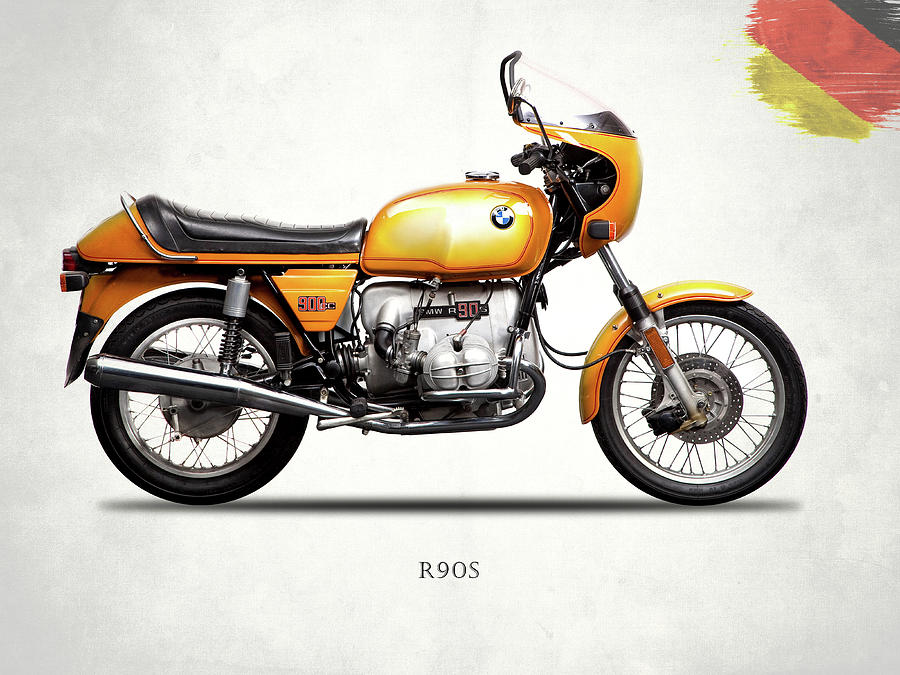 Bmw Photograph - The R90s Motorcycle 1974 by Mark Rogan