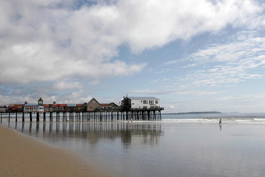 Landscape Photography Photograph - The Boardwalk by Roxanne Marshal